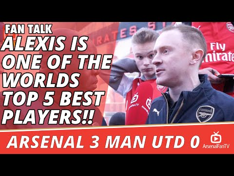 Alexis Is One Of The Worlds Top 5 Best Players!! | Arsenal 3 Man Utd 0