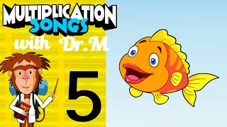 Multiplication Song 5 with Dr. M - Saving Fish