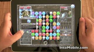 Puzzle Quest 2 for iPad Preview Gameplay