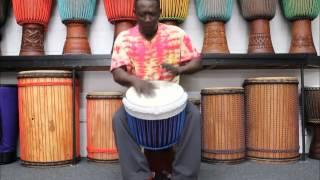 Drumskull Drums & Dr. Bjo Bi - Guinea, Djalla wood, Goat Skin Djembe