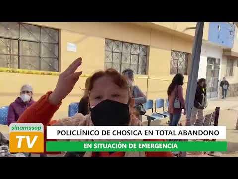 POLICLINICO DE CHOSICA EN ABANDONO 1