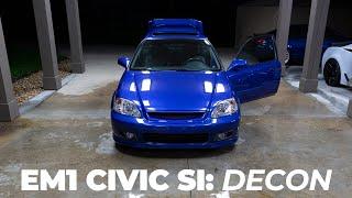 EM1 Civic Si: Decon