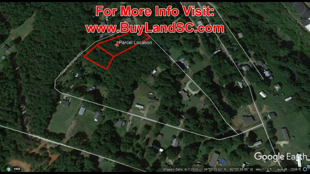 South Carolina Land, Owner Financed for $497 Down