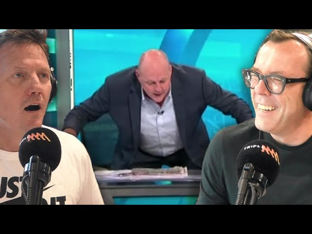 Billy Brownless Cops It For His Bizarre Sunday Footy Show Behaviour | Rush Hour with JB & Billy