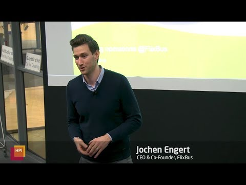 Startup Talks @HPI: Jochen Engert, CEO & Co-Founder, Flixbus
