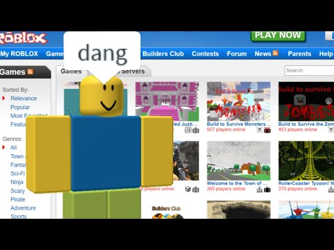 More Roblox Games From 10 Years Ago