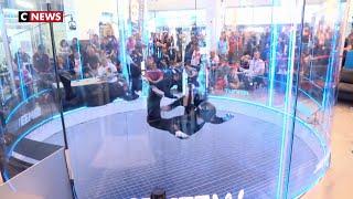 Lille accueille le championnat du monde de vol en soufflerie