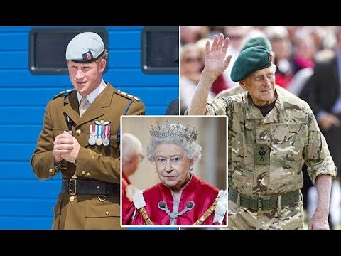 Queen Elizabeth makes Prince Harry the Captain General of the Royal Marines