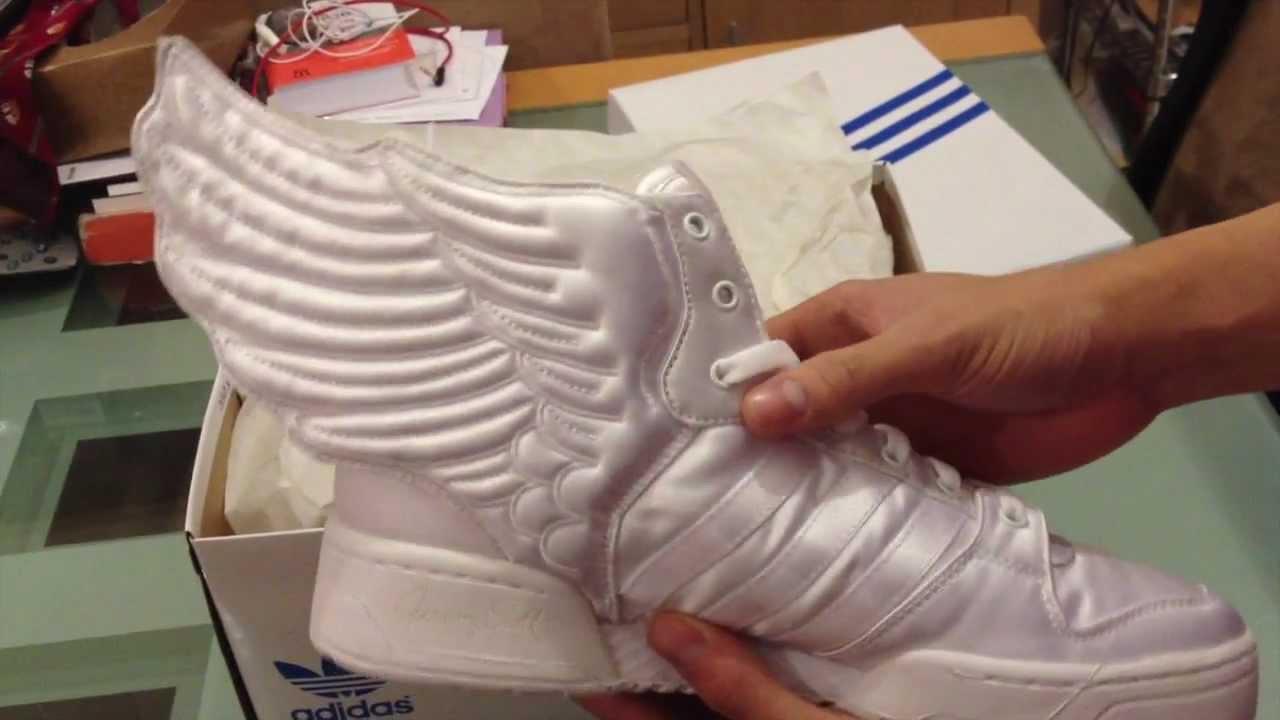 3337be94aefcd Adidas JS Wings 2.0 Satin Jeremy Scott X 2ne1 - YouTube