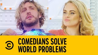Joanne McNally & Seann Walsh On Pornography | Comedians Solve World Problems