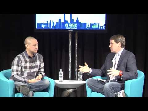 StartupLIVE fireside chat with Zappos Founder Tony Hsieh