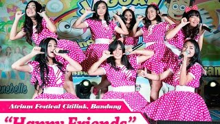Teenebelle - Happy Friends [LIVE] at Atrium Festival Citylink, Bandung