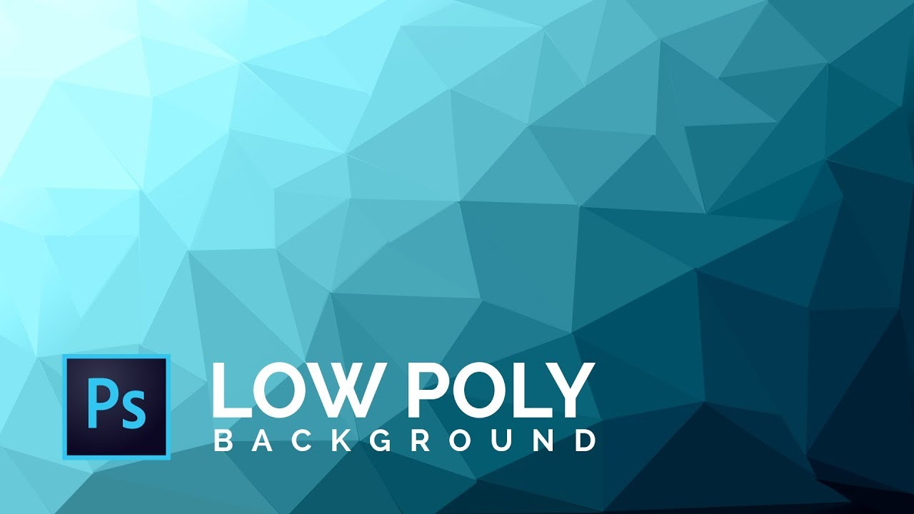 How To Make A Cool Low Poly Background Photoshop Cs6 Cc Tutorial Background Design Youtube