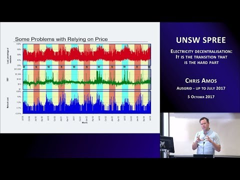 UNSW SPREE 201710-05 Chris Amos - Electricity decentralisation: transition is the hard part