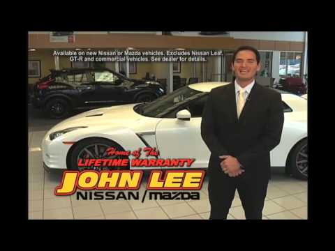 Attractive Lifetime Warranty On New Cars And Trucks   At John Lee Nissan Mazda Panama  City FL