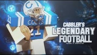 Roblox Legendary Football Giants vs Cowboys Part 1