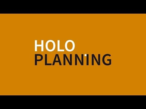 HoloPlanning. A 3D City Planner for Hololens. Built by afca.