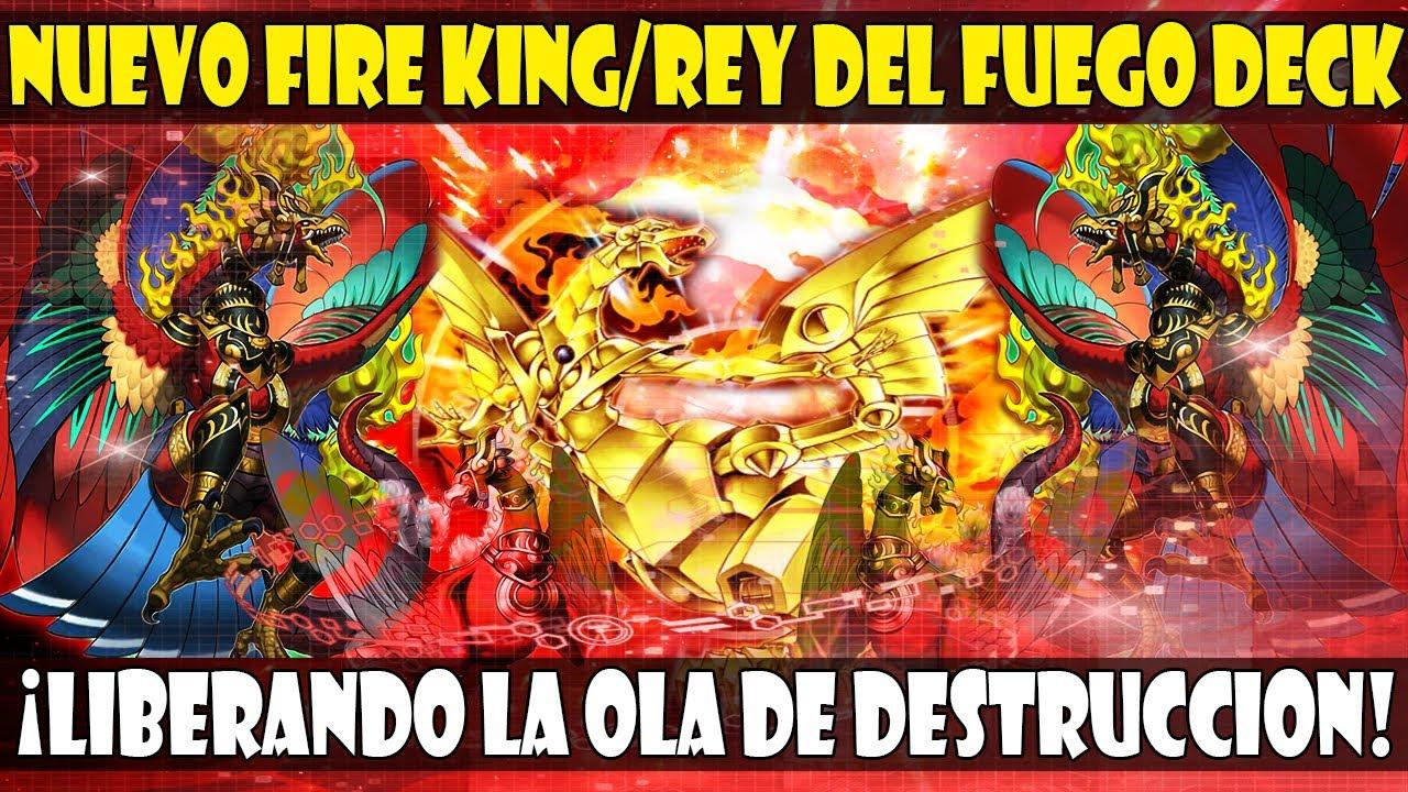 *NUEVO* FIRE KING/REY DEL FUEGO NEPHTHYS DECK | ¡LIBEREN LOS FENIX DE LA DESTRUCCIÓN! - DUEL LINKS