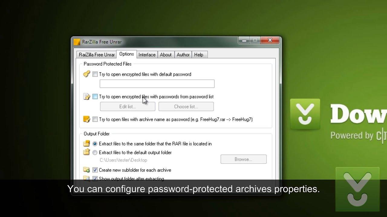 RarZilla Free Unrar - Decompress RAR files in seconds - Download Video  Previews