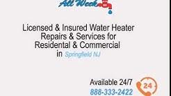 Water heater repairs & service Springfield NJ (888) 333-2422 | Water Heater Repairs NJ