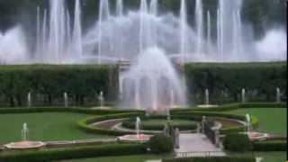 """Сады мира """"Лонгвуд Гарденз"""" обзор архитектурных форм и дизайна сада"""