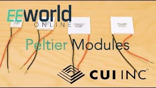 Basics of CUI high-performance Peltier modules