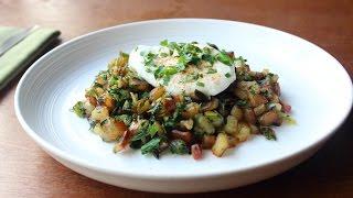 Colcannon Hash Recipe - Potato, Spring Onion & Kale Breakfast Hash