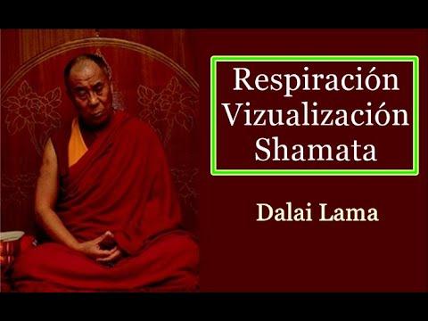 Dalai Lama-Respiración-Visualización-Shamata.SubEsp