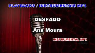 ♬ Playback / Instrumental Mp3 - DESFADO - Ana Moura