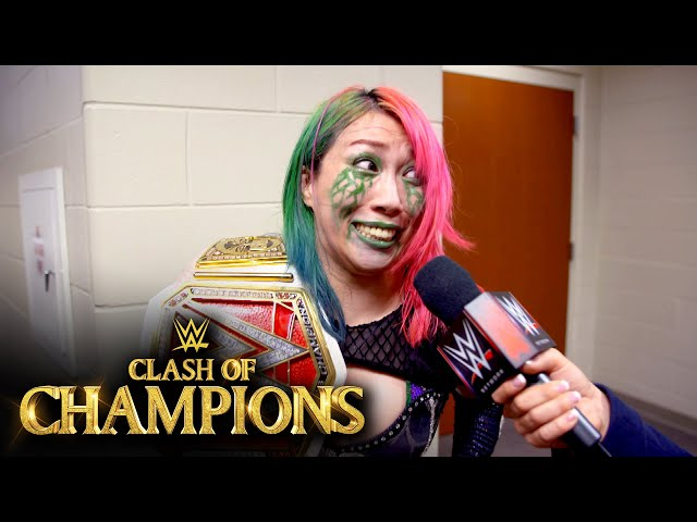 Asuka laughs off wild night at WWE Clash of Champions: WWE Network Exclusive, Sept. 27, 2020