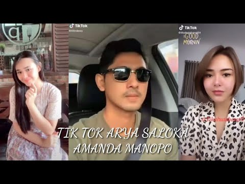Kumpulan Video Tik Tok Amanda Manopo Arya Saloka Youtube