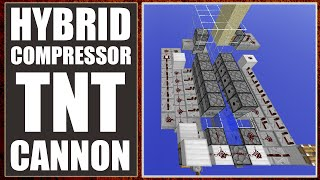 Minecraft: Hybrid Compressor TNT Cannon [Ultimate Hybrid Cannon!] [1.7/1.8+]
