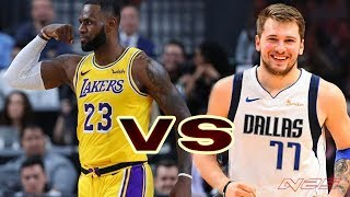 LA Lakers vs Dallas Mavericks | Full Highlights - (12.1.2019) NBA