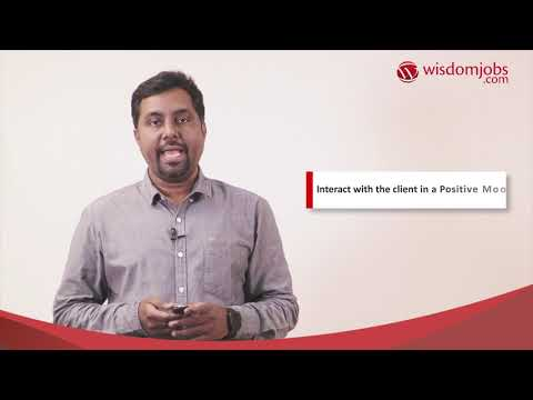Training For Sales - Telephone Etiquette Module 1 | Wisdomjobs
