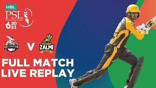 FULL MATCH REPLAY – Lahore Qalandars vs Peshawar Zalmi | Match 2 | HBL PSL 6