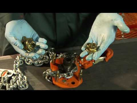 Vitali-Intl Lever Hoist Usage, Disassembly And Assembly