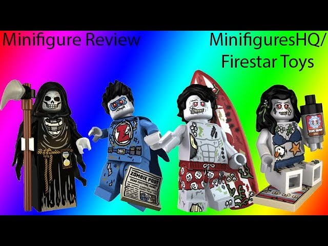 LEGO Custom Printed Minifigure The Grim Reaper