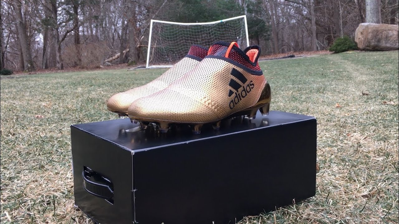 cd6ca1748 UNBOXING ADIDAS X17+ PURESPEED- SKYSTALKER - YouTube