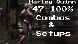 IGAU:Harley Quinn Combos(47-100%)