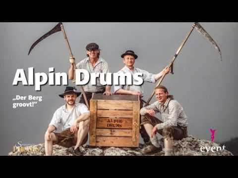 Ein Video von:Alpin Drums: Der Berg groovt!