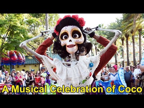 "A Musical Celebration of Disney-Pixar ""Coco"", Día de Muertos Celebration, California Adventure 2017"