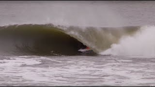 Winter Surfing in Montauk, New York