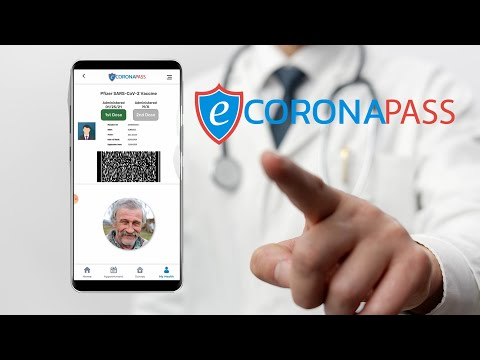 eCoronaPass Launches Optimized Software Platform to Facilitate COVID-19 Tests and Vaccinations Nationwide