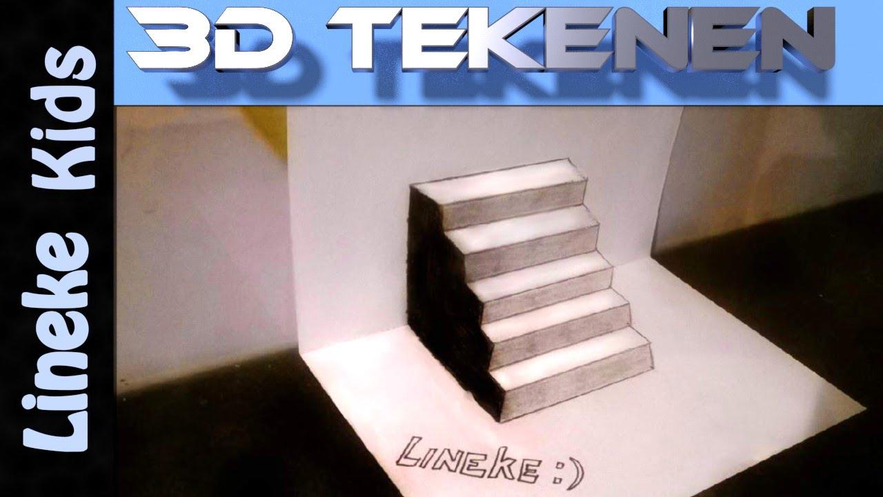 3d Trap Tekenen Voor Beginners Youtube