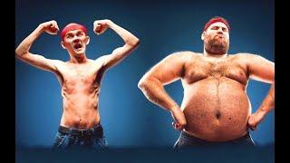 Как я похудел на 30 кг. Тренировки для похудения или как стать РЕЛЬЕФНЫМ