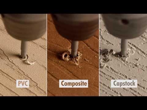 TrapEase 3 Composite Deck Screw – PVC Deck Screw – Capstock