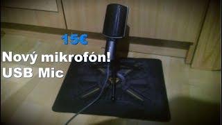 Nový mikrofón!!! Yenkee YMC 1020gy + test w/MatPet