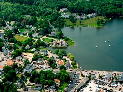 Kennebunk and Kennebunkport Maine Aerial Tour