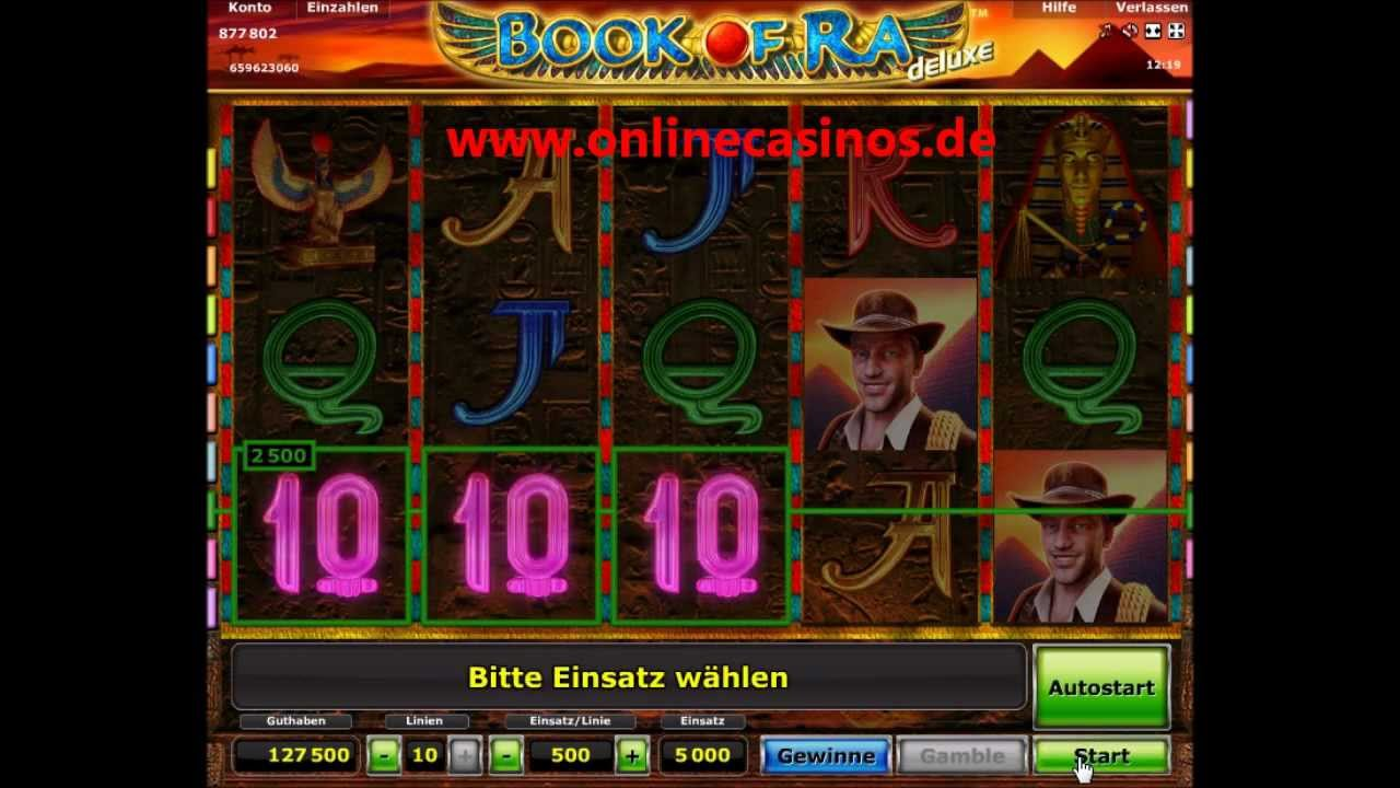 casino online de gratis book of ra spielen