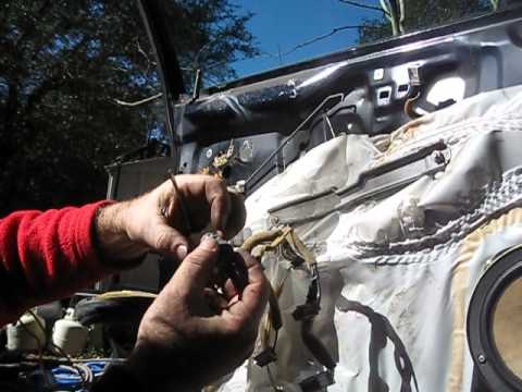 1999 Honda Accord Front Outside Door Handle Repair - YouTube